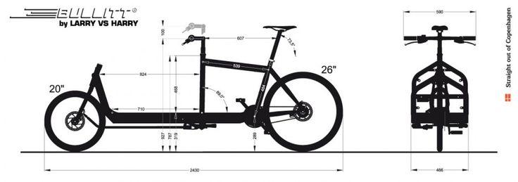 bullit cargo bike dimensions