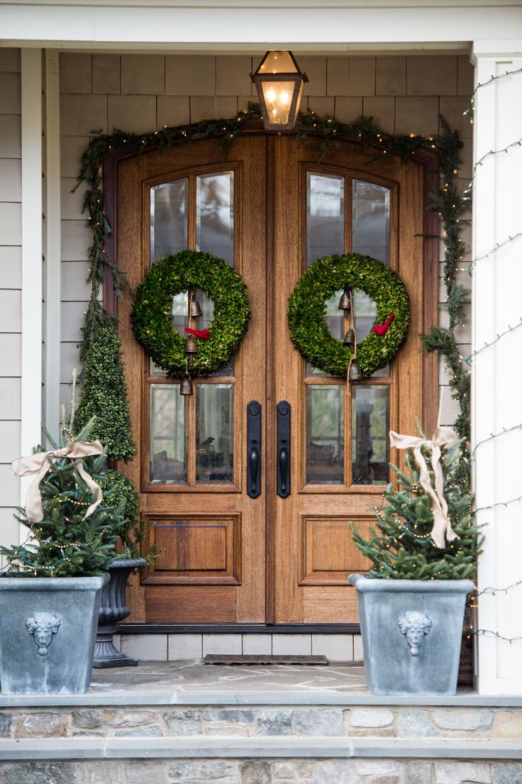 33 best front doors images on pinterest doors front door colors 30 romantic home ideas christmas decor galore