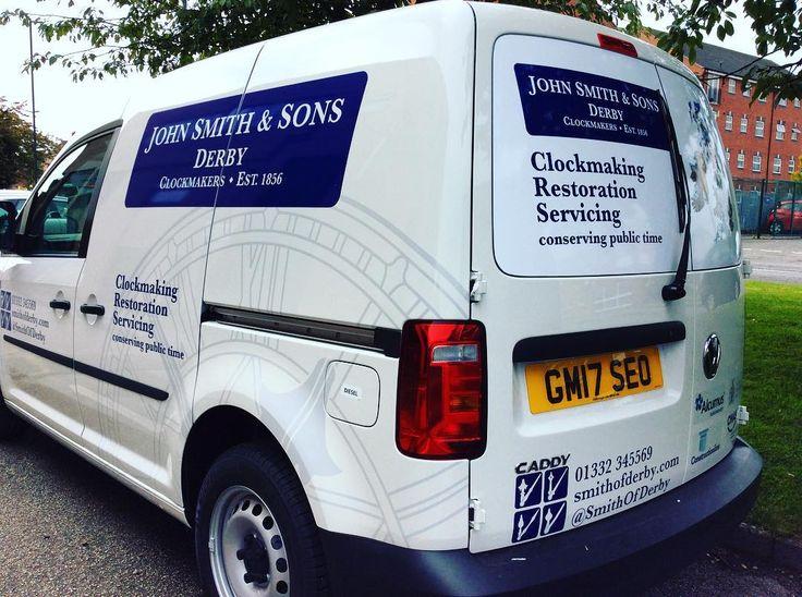 Van livery we designed for @smithofderby