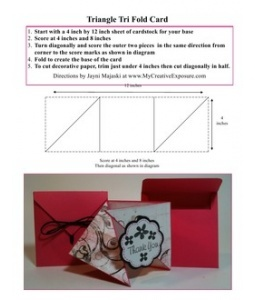 17 Best images about Tri fold cards on Pinterest #1: af65abaeaa5dc4d4e4d50acb78a1fbe0