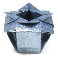 Two tutorials for origami vases, these would be great to ... - photo#10