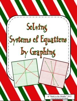 Have your students practice solving systems of equations by graphing with this fun, seasonal activity!  With traditional problems and an extension activity, this download has everything you need to reinforce this important skill!This product is included in my Systems of Equations Seasonal Bundle, as well!Students will solve the 12 worksheet questions by graphing the two equations on the provided coordinate planes.