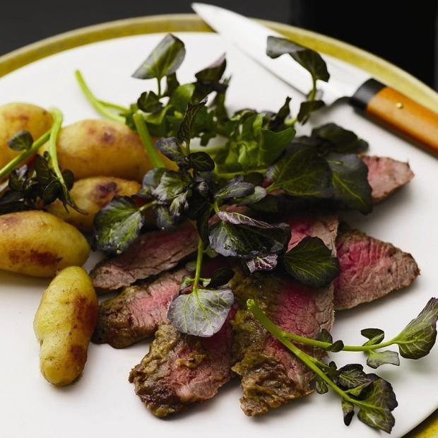 Wasabi Flank Steak Recipe   Beef   Pinterest