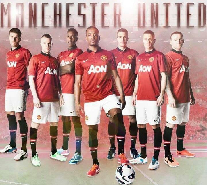 Manchester United my husband is from Manchester, England & we support Manchester United! I've seen many games!