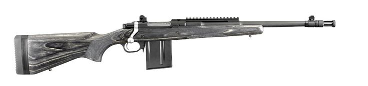 The Ruger® Gunsite Scout Rifle, Model 6814 308 Win Alloy Steel/Matte Black .   The one rifle to have if you could have only one. It is the perfect lightweight, hard-hitting, do-it-all bolt-action rifle.