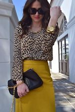 NEW!! J.CREW NO. 2 DOUBLE SERGE COTTON PENCIL SKIRT SPICY YELLOW SIZE 6