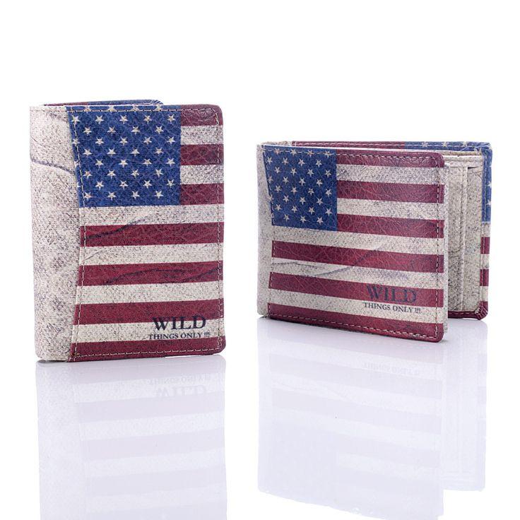 portfel młodzieżowy flaga USA, mens wallets, portfel męski #portfelemeskie