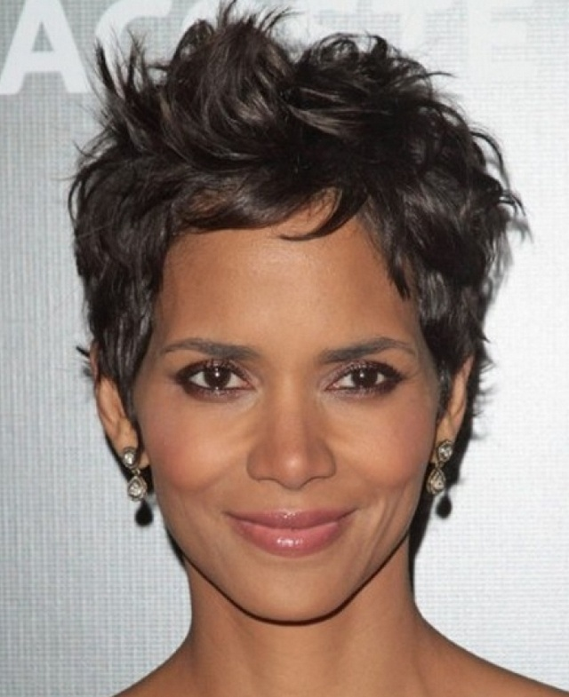 hair styles for thick hair 17 best images about halle berry spike hair on 1373