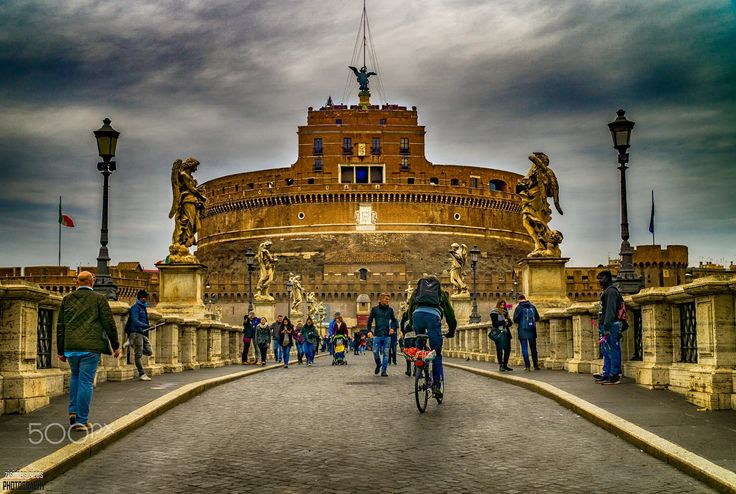 Castel Sant'Angelo and Ponte Sant'Angelo, Rome