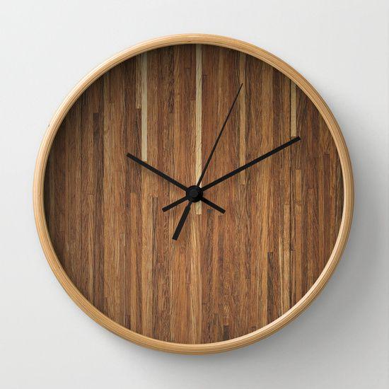 Wood #2 Wall Clock