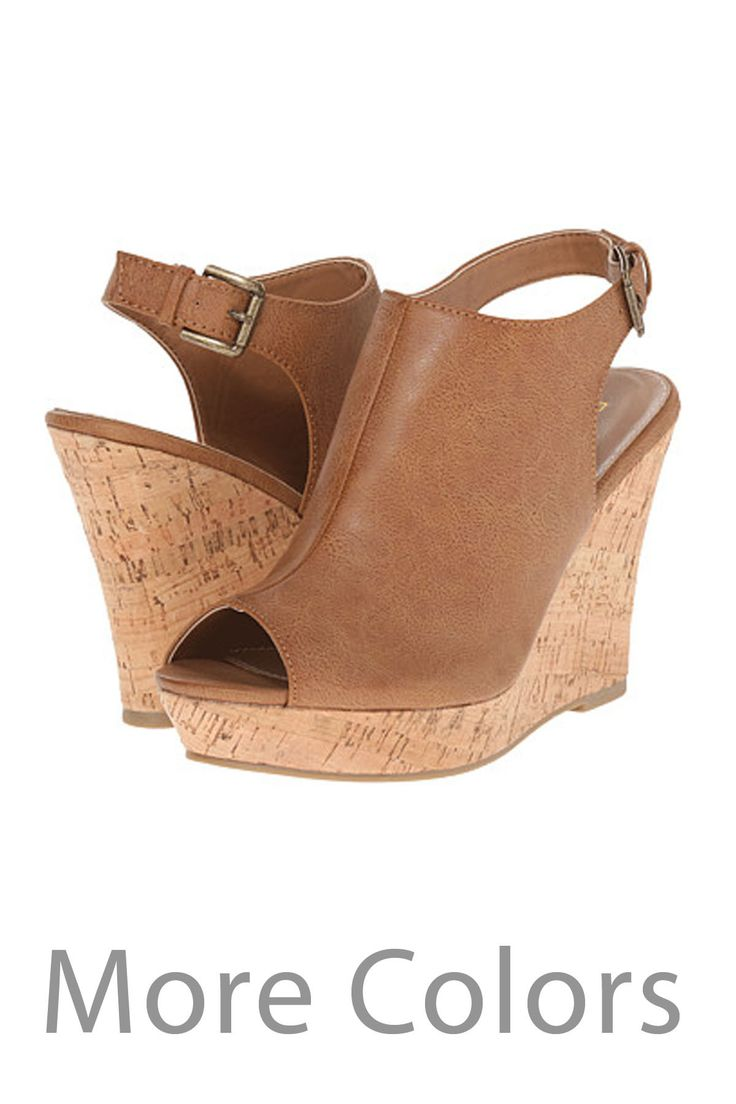 Peep-Toe Wedges