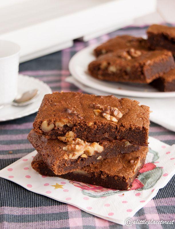 Brownies alle noci - Nuts Brownies