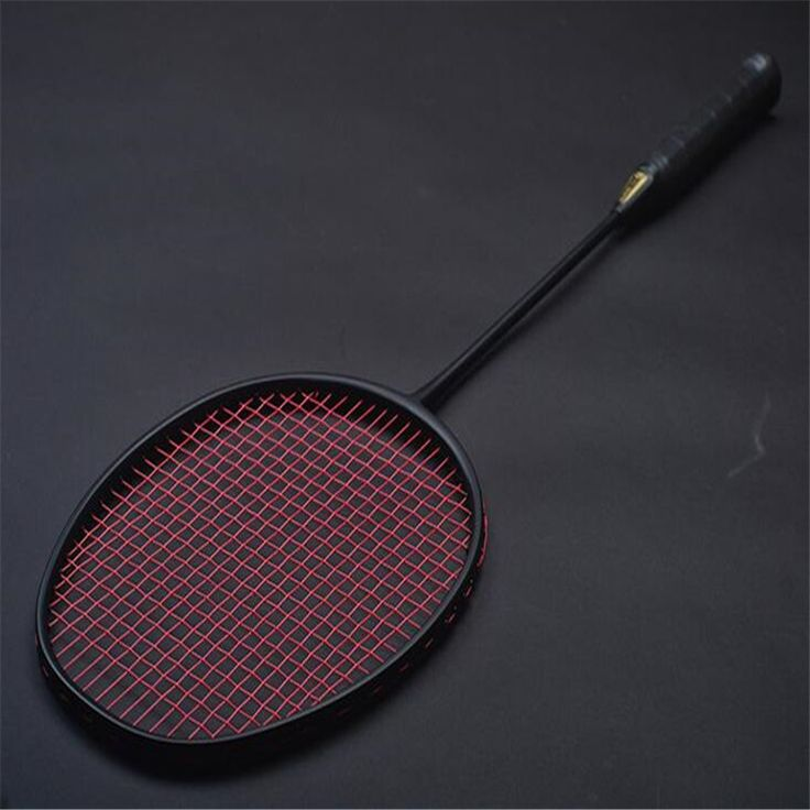 Top 1 Pcs 30LBS Black VT80 Carbon Badminton Rackets Hard Badminton Racquets 4U 82G Amateur Intermediate & Senior Trainers