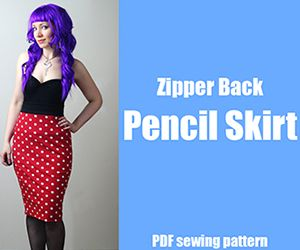 How To Sew a Circle Skirt – DIY Fashion Tutorial « DiY crafts, free sewing tutorials & kickass clothing patterns – WhatTheCraft.com