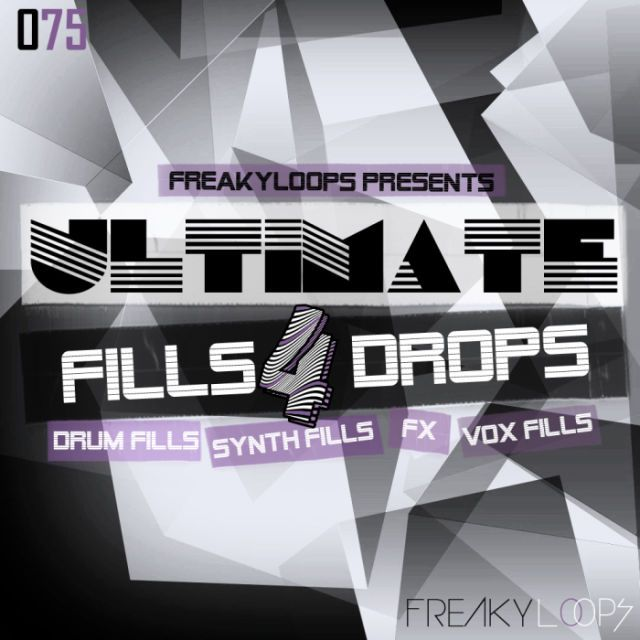 Ultimate Fills & Drops Vol 4 from Freaky Loops
