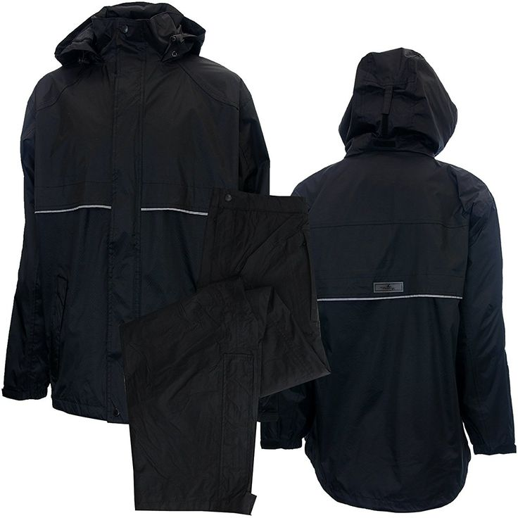 Enjoy ultimate protection from the elements with these great looking mens golf rain suits by The Weather Company!