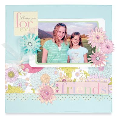 Friends- Scrapbooking Page