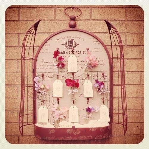 22 best diy wedding stationery and table plan ideas and bird cage seating plan junglespirit Choice Image