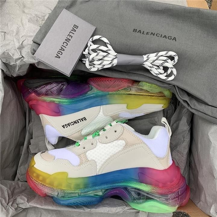balenciaga shoes colorful