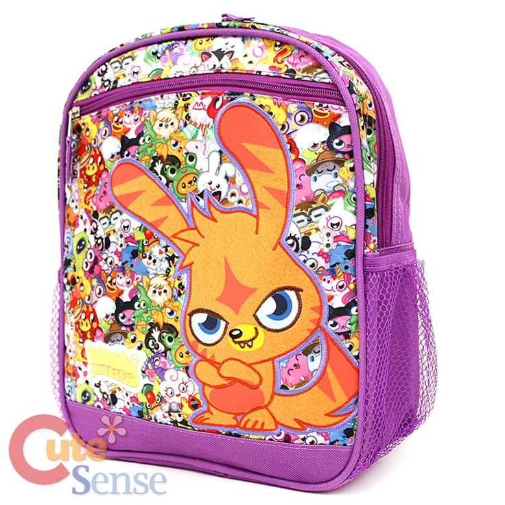 Moshi monster.  I have this bookbag.  I use to play Moshi Monsters!
