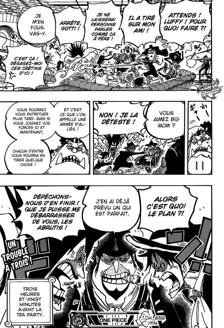Lecture en ligne One Piece 858 page 19
