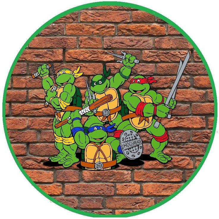 BulutsMom: Ninja Kaplumbağalar Temalı Doğum Günü Süsleri