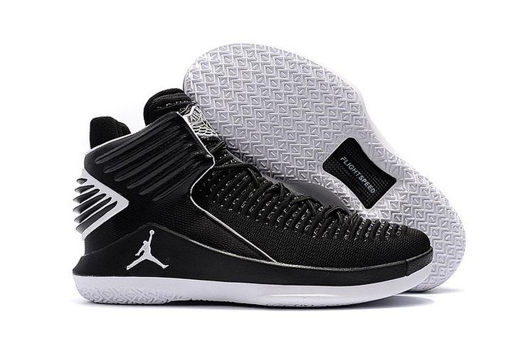 2017 Air Jordan 32 Black White. White Basketball ShoesCheap ...