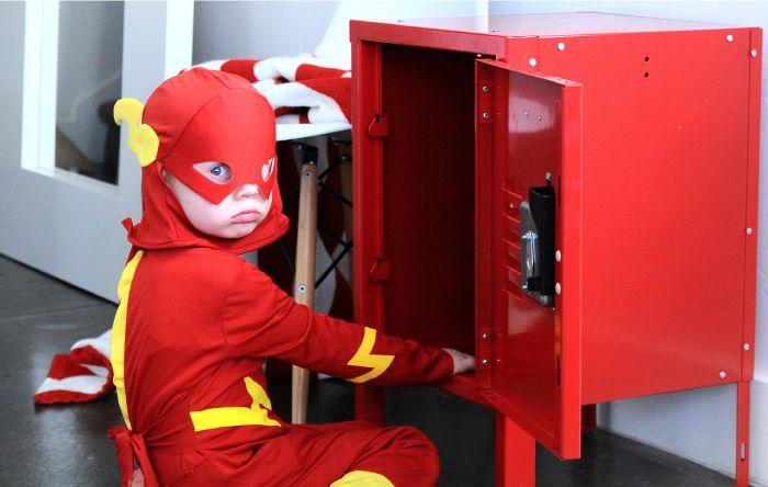 Super Hero Uniform Locker