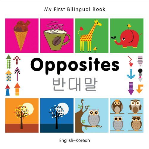 My First Bilingual Book Opposites English Portuguese