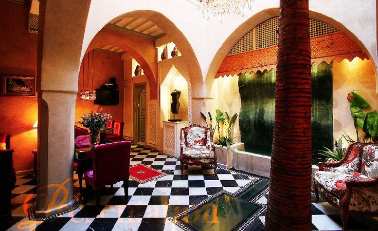 Hôtel Riad Moullaoud 5* Marrakech, prix promo séjour pas cher Maroc Promovacances dès 354,00 € TTC.