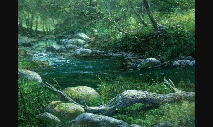 Bosque idílico  (detalle)
