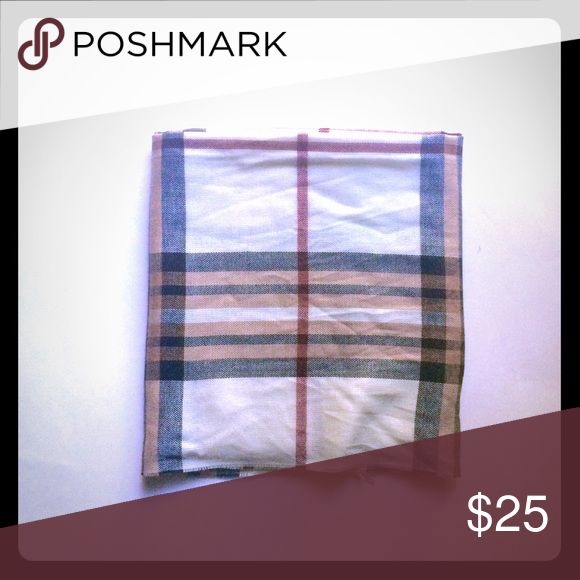 Burberry Printed Scarf Burberry print, long scarf. Made in Germany V. FRAAS Accessories Scarves & Wraps