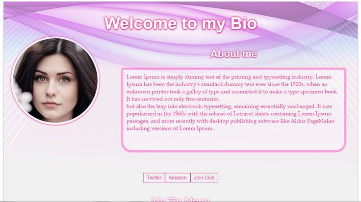 Chaturbate Bio design G2
