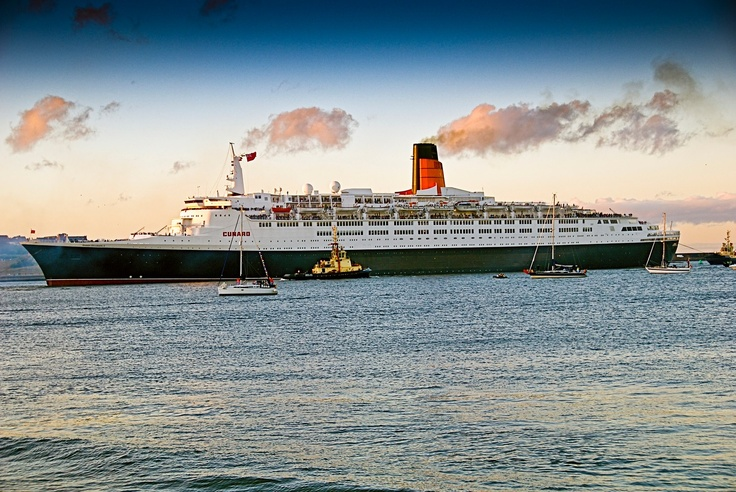 QE2.  Would love to cruise transatlantic on the QE 2.