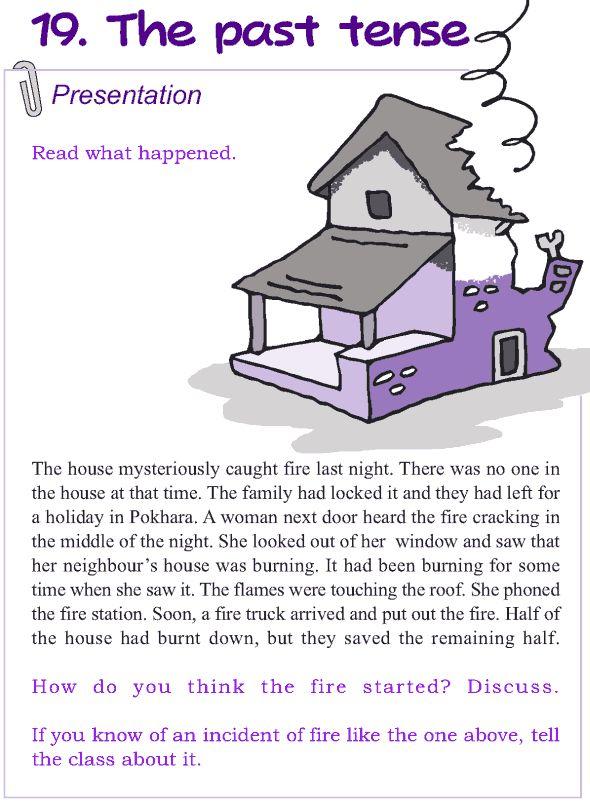 Grade 4 Grammar Lesson 19 The past tense