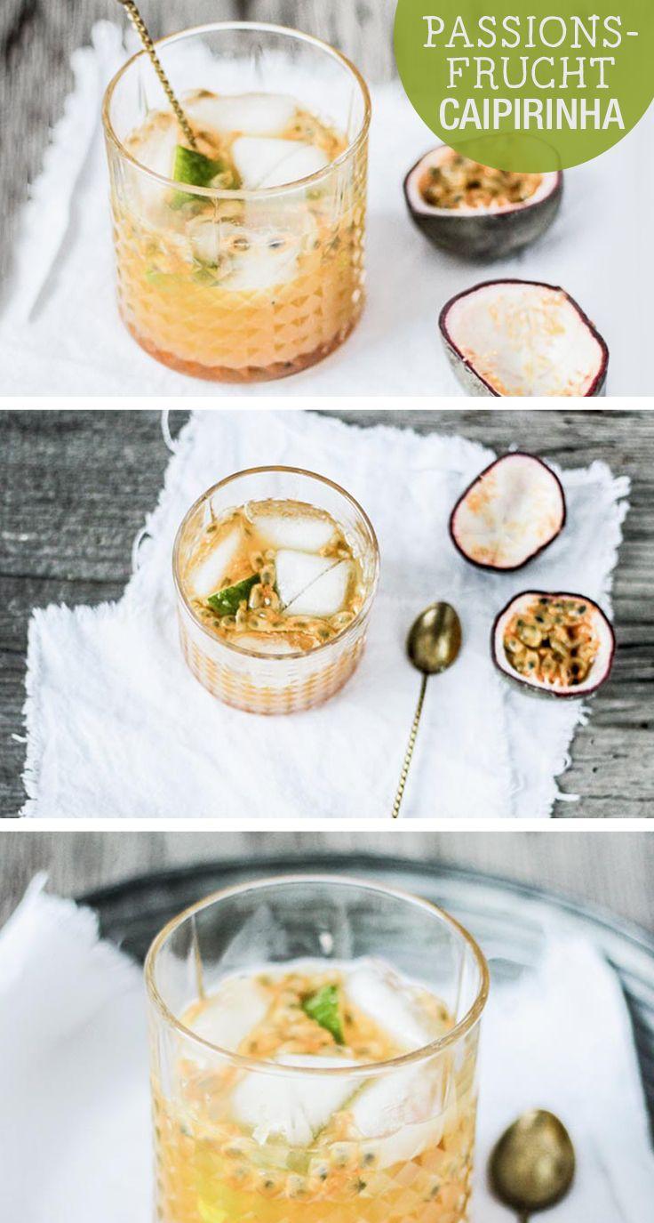 Rezept: Passionsfrucht-Caipirinha selber machen /  recipe: caipirinha with passion fruit via DaWanda.com