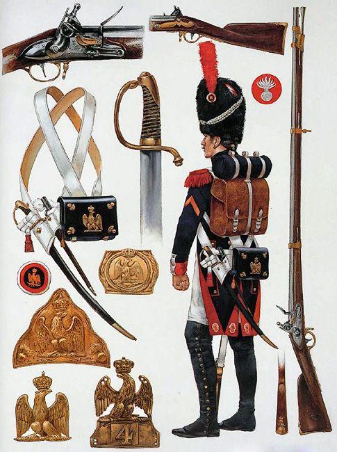 """Imperial Guardsman - Infantry Equipment: Grenadier à Pied"""