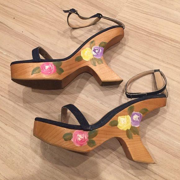 Sky Shoes - Amazing Sky denim heels!