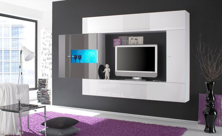 LC TV Wand weiß, Hochglanz Jetzt bestellen unter: https://moebel.ladendirekt.de/wohnzimmer/tv-hifi-moebel/tv-waende/?uid=a9ea321a-cc6d-5115-abca-4281bc5a0999&utm_source=pinterest&utm_medium=pin&utm_campaign=boards #tvwaende #wohnzimmer #tvhifimoebel