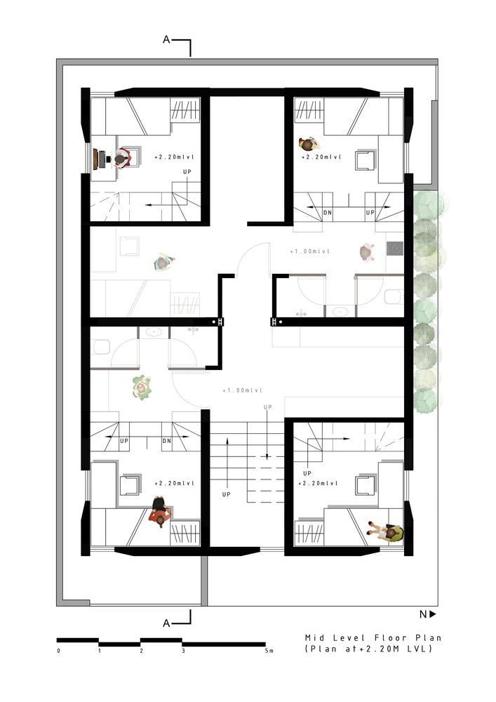 Gallery Of Stacked Student Housing Thirdspace Architecture Studio 33 Architecture Student House House Plans