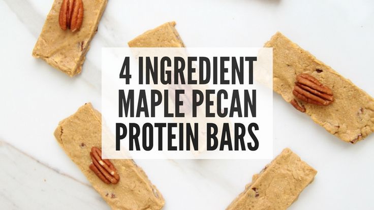 Holy cow… Have I been on a homemade protein bar KICK. Ever since I developed my 4 Ingredient Cookie Dough Protein Bars I have become obsessed with making batches of homemade protein bars each week.  They're just too good. Despite their relatively simple ingredients, these protein bars pack in 8g of