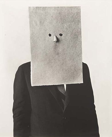 Irving Penn portrait of the legendary illustrator Saul Steinberg
