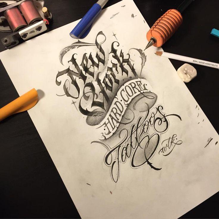 WLK — New York Hard Core Tattoos. nyhctattoos wlk