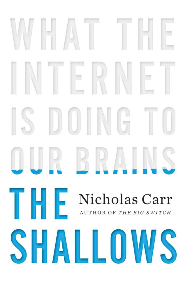 The Shallows: What the Internet Is Doing to Our Brains - Nicholas Carr Cover by Chris Welch