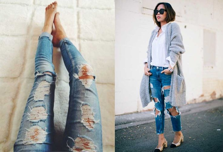 Ripped & Distressed Jeans: Πως να σκίσετε τα Τζιν σας