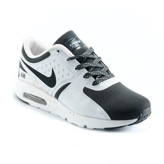 Sepatu sneakers, running, casual Nike Air Max Zero. Berbahan suede dan rubber di bagian upper yang dilengkapi dengan tabung tengah dan outsole model Air Max Zero. Sepatu sneaker Nike yang keren dan cocok dipakai untuk berbagai aktifitas. Kombinasi warna abu-abu dan putih. Sepatu berkualitas Grade Ori A+.