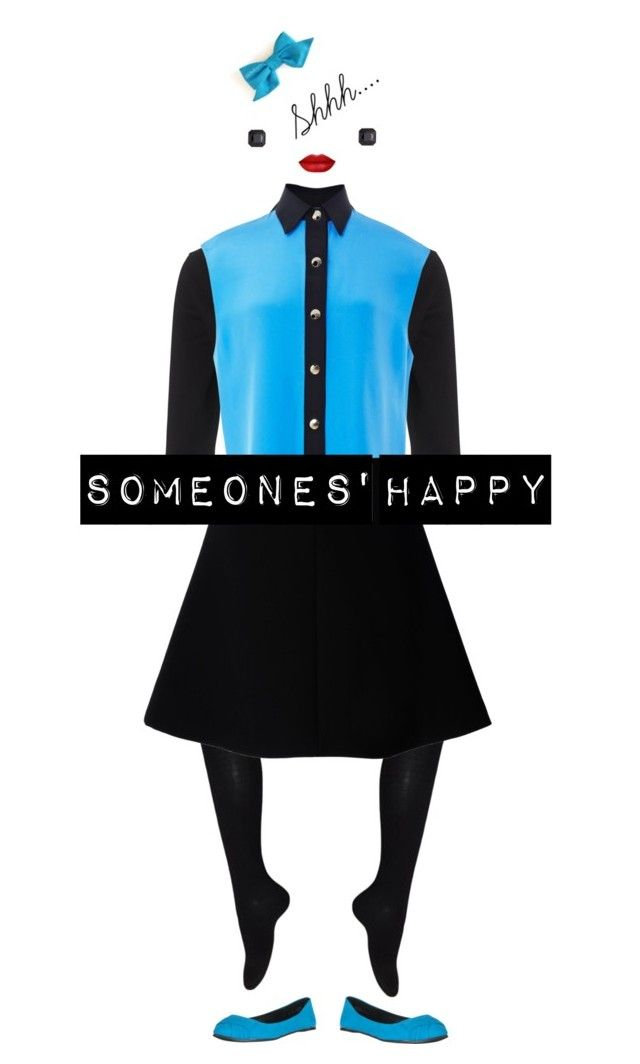 """""""Someones's happy"""" by sumzie-blitz2000 ❤ liked on Polyvore featuring moda, Phase Eight, FAUSTO PUGLISI, RED Valentino y Kenneth Jay Lane"""