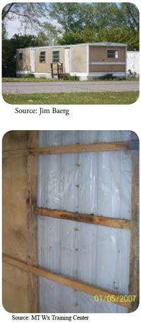 Insulating Mobile Home Walls
