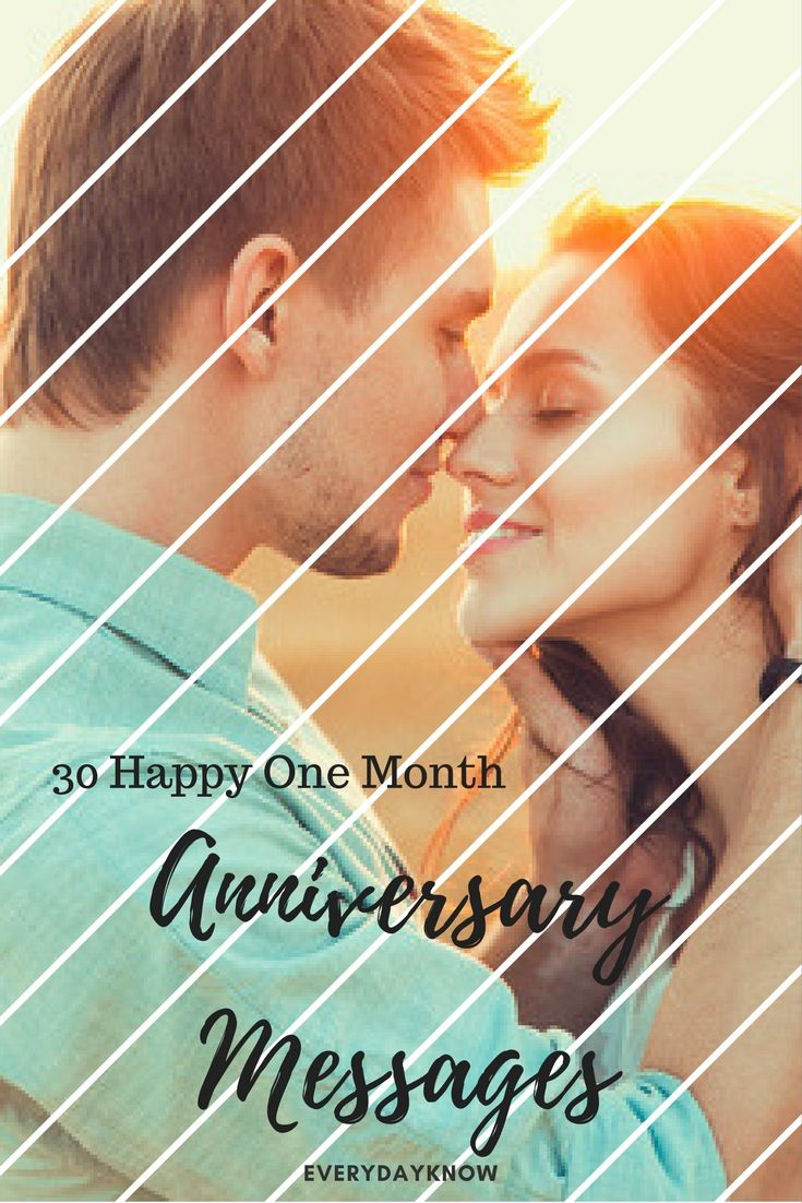 30 Happy One Month Anniversary Messages