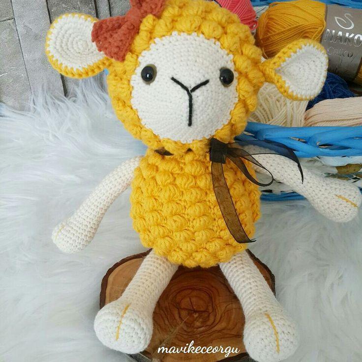 Amigurumi sheep kuzu kuzucuk